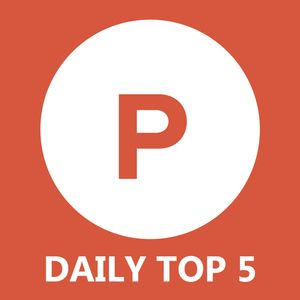Product Hunt Daily Top 5 Podcast Image