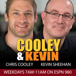 Cooley and Kevin with Chris Cooley and Kevin Sheehan Podcast Image