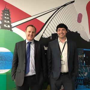 Owen Pendlebury & Ross Spelman from Deloitte Ireland