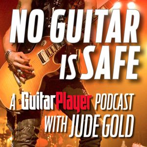 No Guitar Is Safe Podcast Image