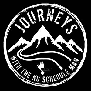 Journeys with the No Schedule Man Podcast Image