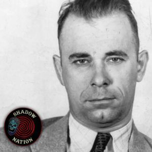 John Dillinger with Author Dary Matera