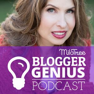 The Blogger Genius Podcast Podcast Image