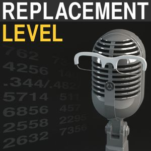 Replacement Level Podcast Podcast Image