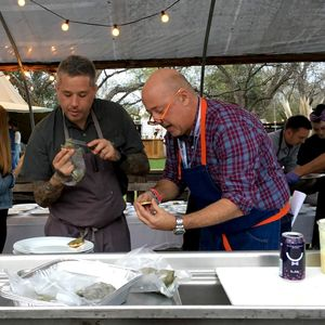 "Ep 74:  Addie Broyles chats with ""Bizzare Foods"" host Andrew Zimmern at SXSW"