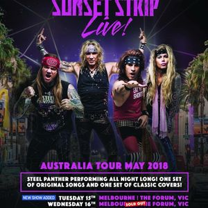 Steel Panther [2018] | Satchel on 'Sunset Strip Live', playing covers, advice for young fans
