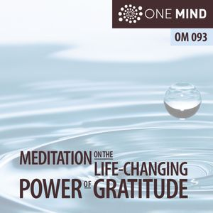 OM093 – A Brief Meditation On The Life-Changing Power of Gratitude