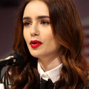 Lily Collins Podcast Image