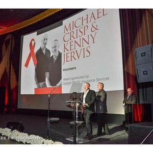 Kenny Jervis & Michael Crisp - Desert AIDS Project's Everyday Heroes