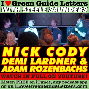 Ep 268 : LIVE! Nick Cody, Demi Lardner & Adam Rozenbachs Love The 22/03/18 Letters