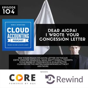 Dear AICPA! I Wrote Your Concession Letter