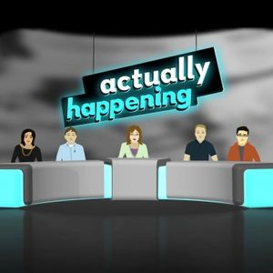 Actually Happening Podcast Image