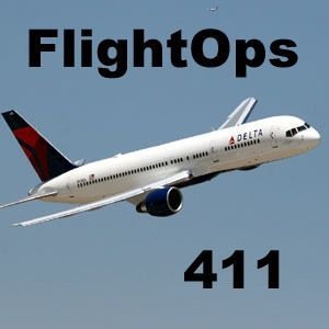 Delta Air Lines Flight Ops 411 Podcast Image