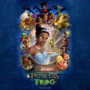 The Princess & the Frog Podcast Image