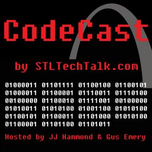 CodeCast by STLTechTalk Podcast Image