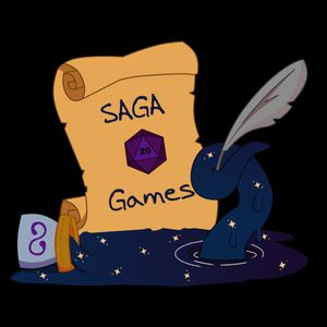 Saga Games Studio Podcast Image