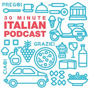 30 Minute Italian Podcast Image